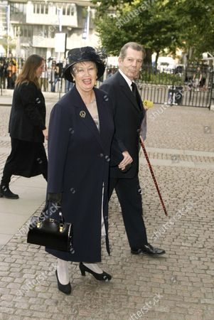 Editorial image of THORA HIRD MEMORIAL, WESTMINSTER ABBEY, LONDON, BRITAIN - 15 SEP 2003