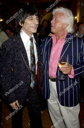 RONNIE WOOD AND MIKE MANSFIELD