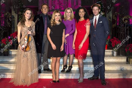 Stock Picture of Jennifer Pike, Robert Lindsay, Katherine Jenkins, Sally Phillips, Margherita Taylor and James Norton