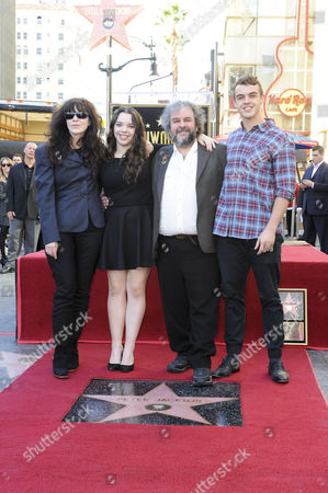 Editorial photo of Peter Jackson honored with star on the Hollywood Walk of Fame, Los Angeles, America - 08 Dec 2014
