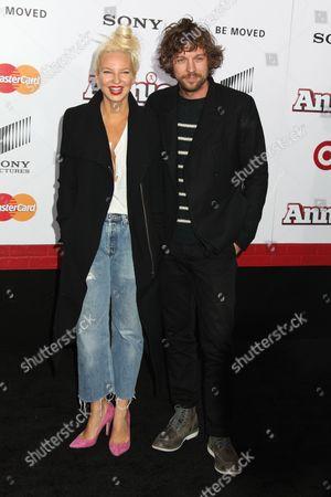 Stock Image of Sia Furler and Erik Anders Lang