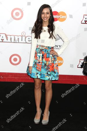 Editorial image of 'Annie' film premiere, New York, America - 07 Dec 2014