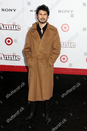 Editorial image of 'Annie' film premiere, New York, America - 07 Dec 2014