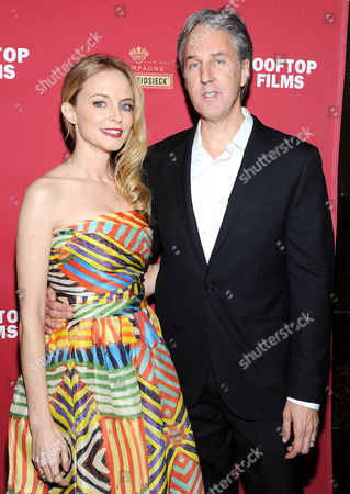 Stock Picture of Heather Graham and Angus MacLachlan