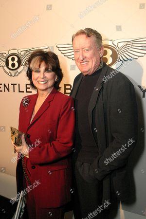 Suzanne Pleshette and Tom Poston