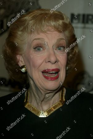 Joyce Randolph arriving to the New York premiere of 'Duplex' at the Beekman Theatre in New York City