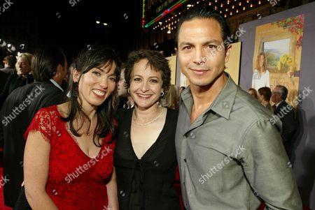 Director Audrey Wells, Nina Jacobson and Benjamin Bratt