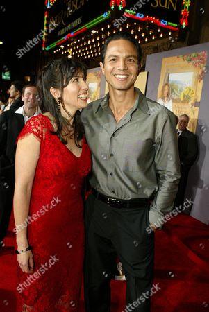Director Audrey Wells and Benjamin Bratt