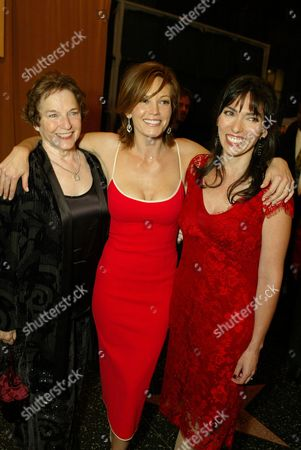 Author Frances Mayes, Diane Lane and Director Audrey Wells