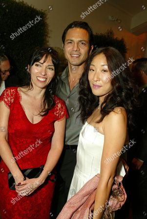 Director Audrey Wells, Benjamin Bratt and Sandra Oh