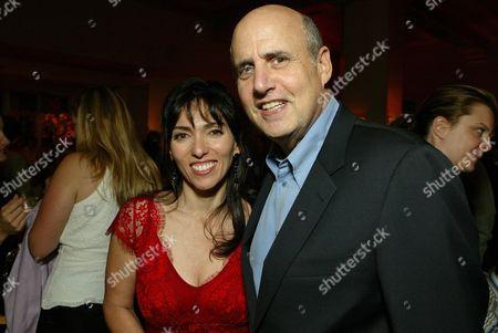 Stock Photo of Director Audrey Wells and Jeffrey Tambor