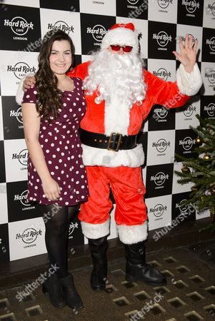 Charlotte Jaconelli and Father Christmas