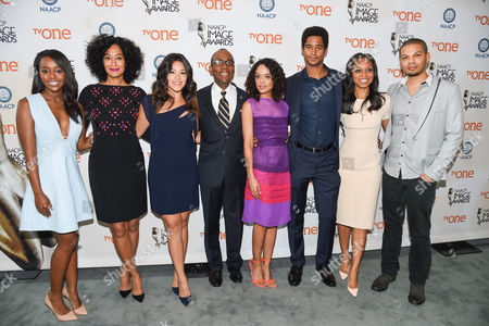 Aja Naomi King, Tracee Ellis Ross, Gina Rodriguez, Cornell William Brooks, Tessa Thompson, Alfred Enoch, Nischelle Turner, Jake Smollet