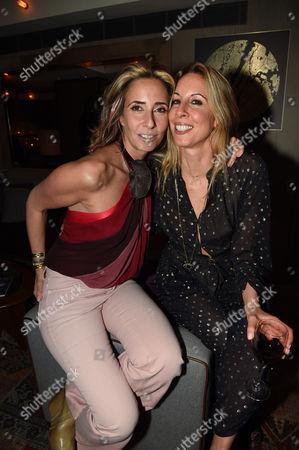 Tara Bernerd and Hayley Sieff (sister)