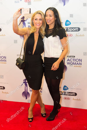 Caroline Pearce and Anne Keothavong