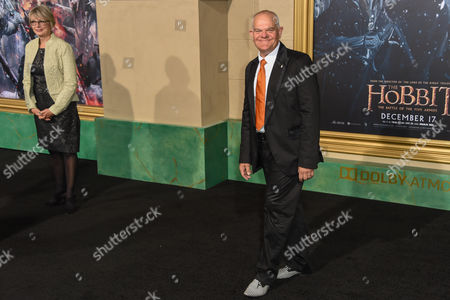Editorial image of 'The Hobbit: The Battle of the Five Armies' film premiere, Los Angeles, America - 09 Dec 2014