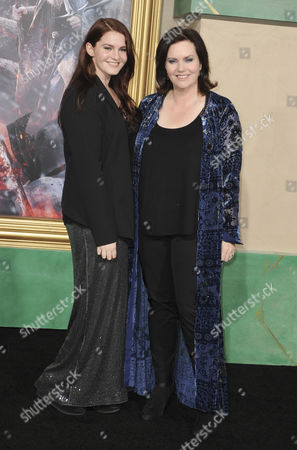 Philippa Boyens and daughter Phoebe Gittins