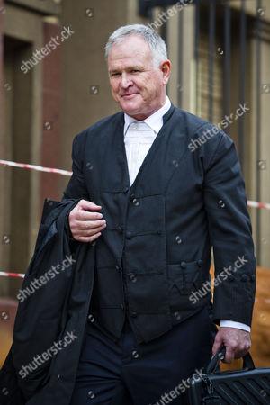 Advocate Barry Roux leaves the Pretoria High Court