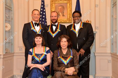 Al Green, Tom Hanks, Patricia McBride, Sting and Lily Tomlin