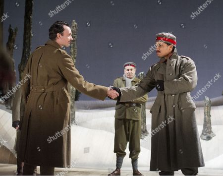 William Belchambers as Alf, Chris McCalphy as Jurgen, Tunji Kasim as Franz