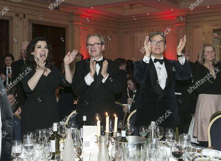 Nigella Lawson, Harry Enfield and Peter York