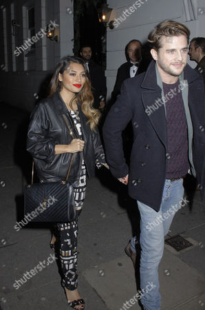 Stock Picture of Vanessa White and Gary Salter