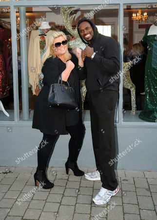 Gemma Collins and Audley Harrison