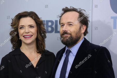 Rupert Wyatt and wife Erica Beeney