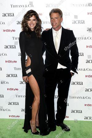 Stock Image of Alessandra Ambrosio and Stewart Shining