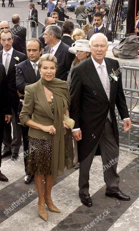 MARINA DORIA AND PRINCE VITTORIO EMANUELE DI SAVOIA