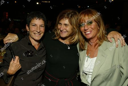 Rosalie Swedlin, Amy Pascal and Penny Marshall