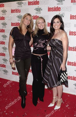 Editorial picture of INSIDE MAGAZINE SOAP AWARDS, LONDON, BRITAIN - 29 SEP 2003
