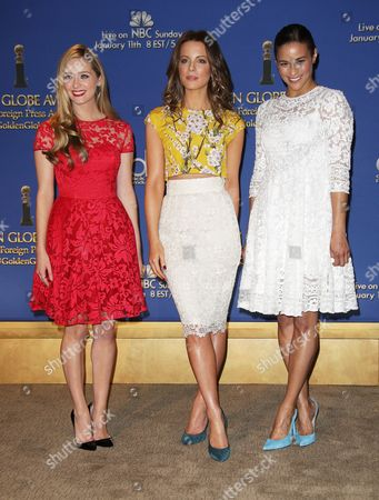 Greer Grammer, Kate Beckinsale and Paula Patton