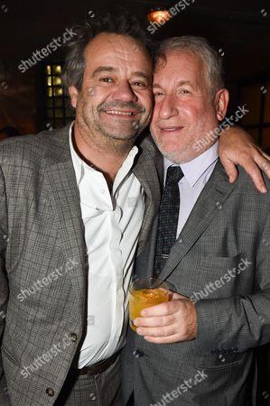 Mark Hix and Simon Kelner