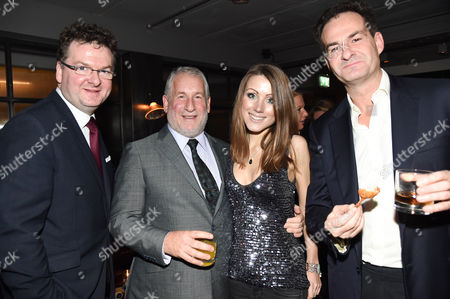 Ewan Venter, Simon Kelner, Hannah Lord and guests