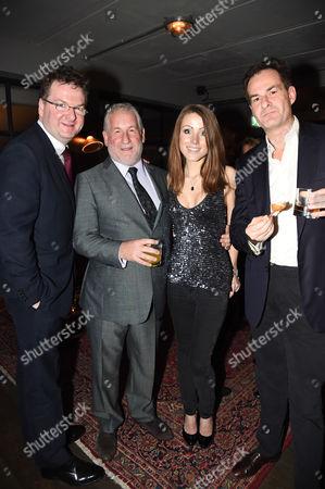 Simon Kelner, Hannah Lord and guests