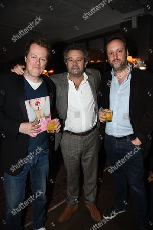 Tom Parker Bowles, Mark Hix and guest