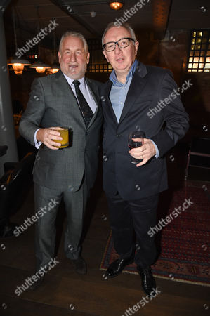 Simon Kelner and guest