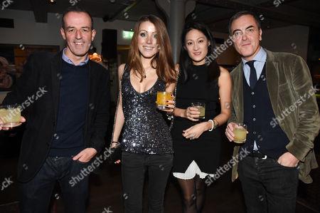 Guest, Hannah Lord, guest and James Nesbitt