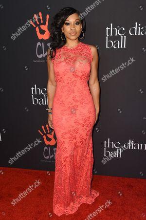 Editorial photo of Diamond Ball, Los Angeles, America - 11 Dec 2014