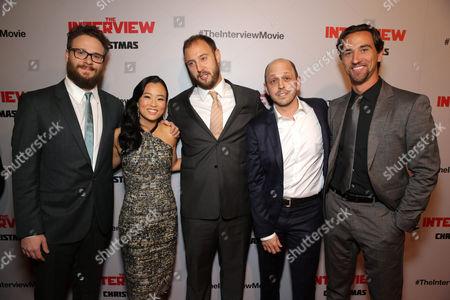 Seth Rogen, Diana Bang, Evan Goldberg, Dan Sterling, James Weaver