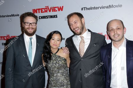 Editorial picture of 'The Interview' film premiere, Los Angeles, America - 11 Dec 2014