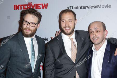 Seth Rogen, Evan Goldberg and Dan Sterling