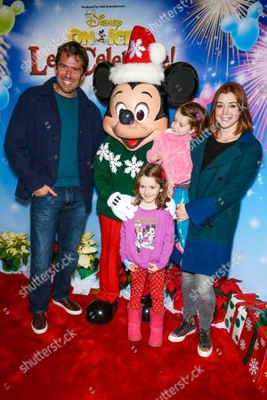 Alyson Hannigan, Alexis Denisof, Satyana Marie Denisof and Keeva Jane Denisof