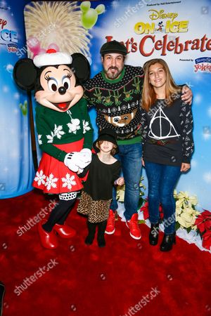 Editorial photo of Disney On Ice Presents Let's Celebrate, Los Angeles, America - 11 Dec 2014
