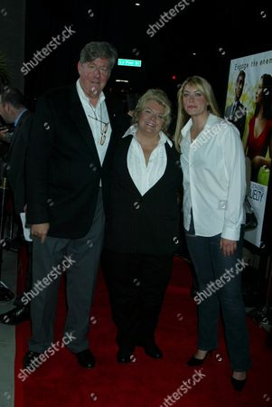 Edward Herrmann and Wife and Daughter