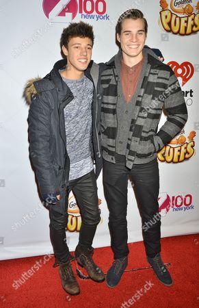 Cameron Dallas and Marcus Johns