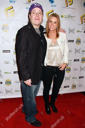 Cheryl Hines and Jamie Gold