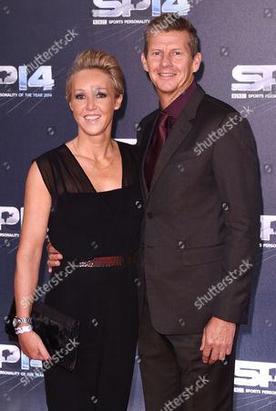 Allison Curbishley and Steve Cram