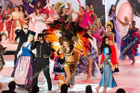 Editorial image of Miss World 2014 Grand Final, The Auditorium ExCel, London, Britain - 14 Dec 2014